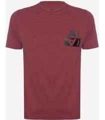 camiseta aleatory estampada start masculina - masculino