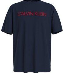 calvin klein t-shirt donkerblauw - cbk
