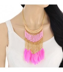 collar rosa sasmon cl-11237