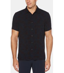 perry ellis men's floral print shirt