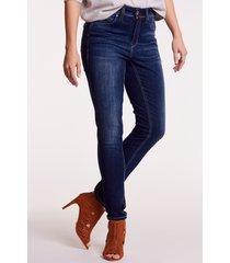granatowe spodnie jeansowe demi