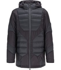 boss men's j patton down-filled padded parka