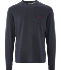 gramicci one point l/s tee | navy | gm-423225 nvy