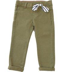 pantalon danna verde militar