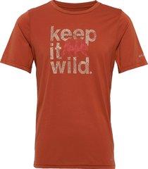 terra vale™ ii ss tee t-shirts short-sleeved orange columbia