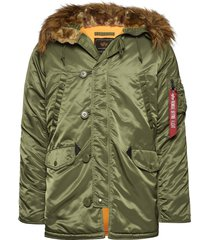 n3b vf 59 parka jas groen alpha industries