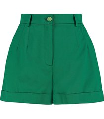dolce & gabbana stretch cotton shorts