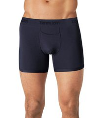 tommy john second skin 4-inch boxer briefs, size xx-large in dress blues at nordstrom