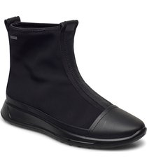 flexure runner w shoes boots ankle boots ankle boot - flat svart ecco