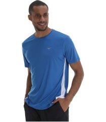 camiseta mizuno wave run new - masculina - azul