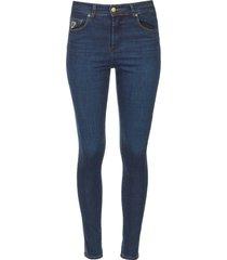 skinny jeans l34 celia  donkerblauw