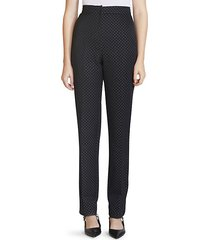 emanuelle polka dot trousers