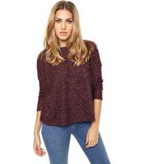 sweater bordó asterisco belona