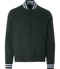fred perry tennis bomber jacket | hunting green | j1532-408