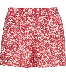 onlnova lux shorts aop wvn 7 shorts flowy shorts/casual shorts röd only