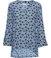 koas bl blouse lange mouwen blauw part two