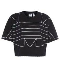 camiseta large logo - preto