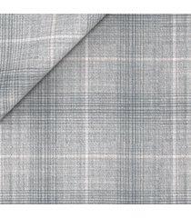 blazer da uomo su misura, lanificio zignone, leggerissimo grigio principe di galles, primavera estate | lanieri