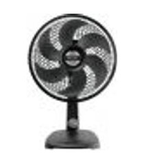ventilador de mesa mallory 30cm ts30 6 pás 3 velocidades preto 220v