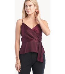 astr women's nile top in color: wine size xs from sole society