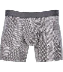 boxer escamas color blanco, talla s