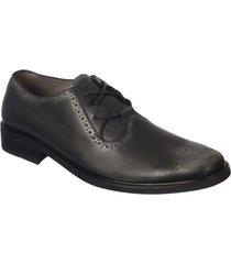 zapato formal pierre d'agostiny para hombre, ref oxford negro