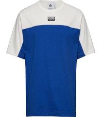 vocal j tee t-shirts short-sleeved blå adidas originals