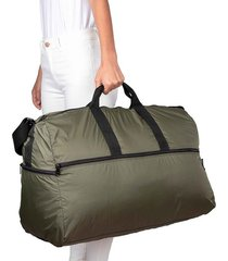 maleta xl plegable citybags verde militar