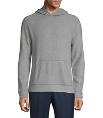 fuzzy pullover hoodie