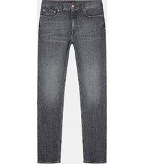 tommy hilfiger men's big and tall regular fit grey wash jean grey - 40/34