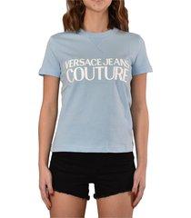 couture t-shirt con logo