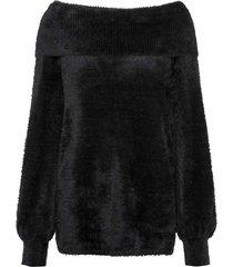 maglione con spalle scoperte (nero) - bodyflirt