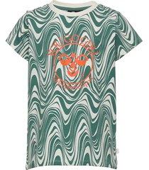 hmlolivia t-shirt s/s t-shirts short-sleeved multi/mönstrad hummel