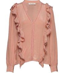 blouse blouse lange mouwen roze sofie schnoor