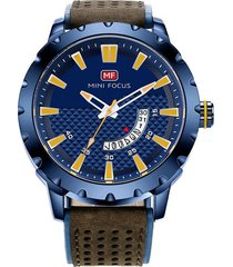 reloj análogo f0150g-2 hombre azul