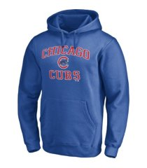 majestic chicago cubs men's rookie prime logo hoodie