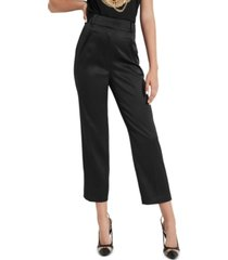 guess deva cropped high-rise pants