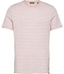 jprblabeach ss tee stripe t-shirts short-sleeved rosa jack & j s