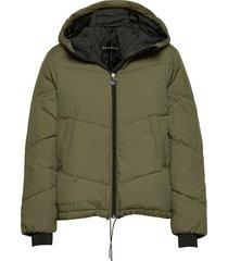 alba puffer jacket gevoerd jack groen röhnisch