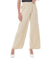 pantalon para mujer en lino blanco color-blanco-talla-14