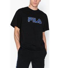 fila men usher tee t-shirts & linnen black