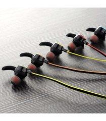 audífonos bluetooth, funcionamiento auriculares manos libres  deporte inalámbrico manos libres  estéreo en el oído estéreo de doble oreja teléfono para iphone samsung sony (naranja)