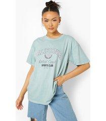 overdye california t-shirt, sage
