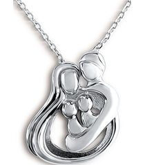 collar familia unida casual plata arany joyas
