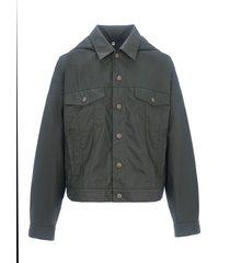 mm6 hooded sport jacket
