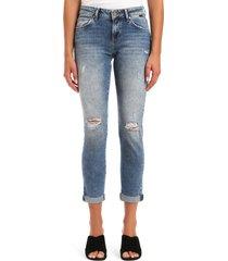 women's mavi jeans ada ripped ankle skinny jeans
