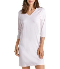 hanro pure essence nightgown, size medium in rosewater 1352 at nordstrom
