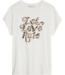 catwalk junkie 2102020226 201 t-shirt aaliyah off white
