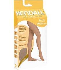 meia-calça kendall alta compressão feminina - feminino