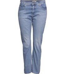 314 pl shaping straight berlin skinny jeans blå levi's plus